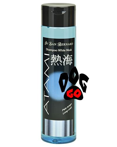 Шампунь Iv San Bernard White Musk для длинной шерсти собак и кошек (Питание и легкое расчесывание) SHMUSB300 250 мл