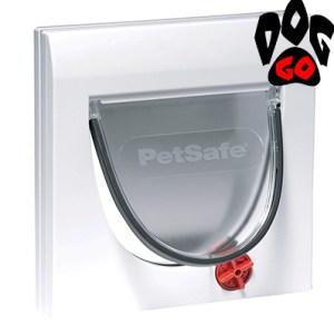 Дверца для кошки CROCI (белый пластик, 4 режима, до 7 кг) 224х224см