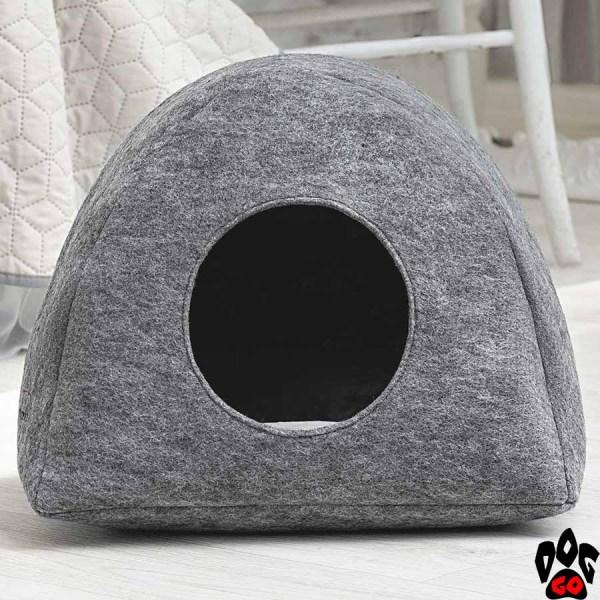 "Дом для кошки Палатка с подушкой ""Digitalwool"" 40x39x33 см"