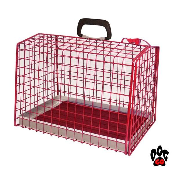 Клетка-переноска для собак CROCI, крашеная-1