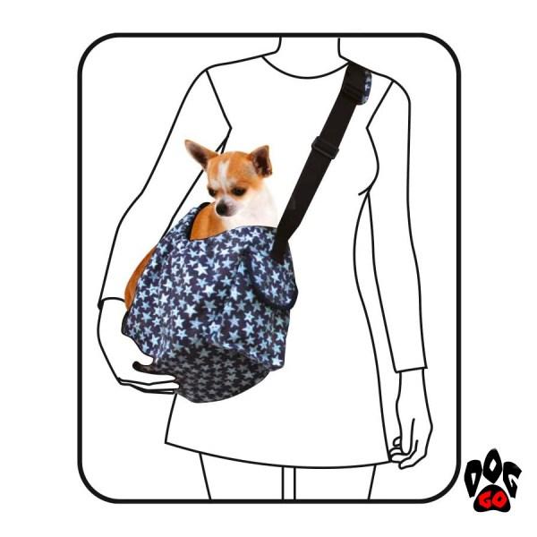 Сумка-гамак для собак и кошек CROCI Leisure, 41x26x17см-3