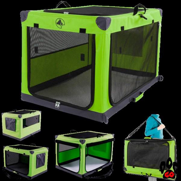 Палатка для выставки собак и кошек CROCI DENVER сетка, карманы, 61х91х58 см