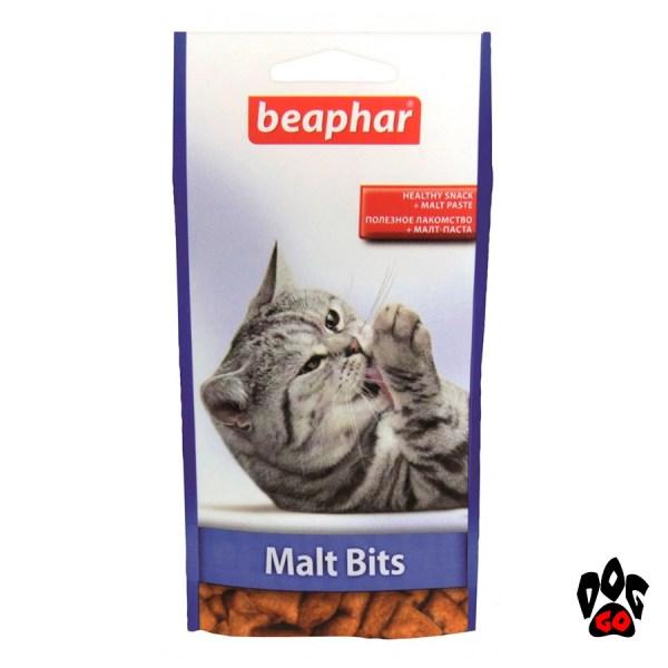 BEAPHAR витамины для выведения шерсти Malt Bits, 35 г
