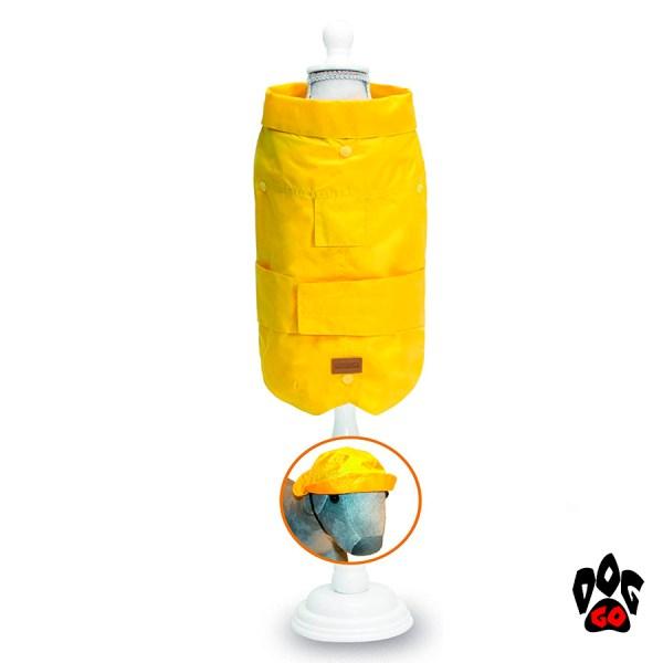 Желтая куртка для собак CROCI DACHSHUND-1