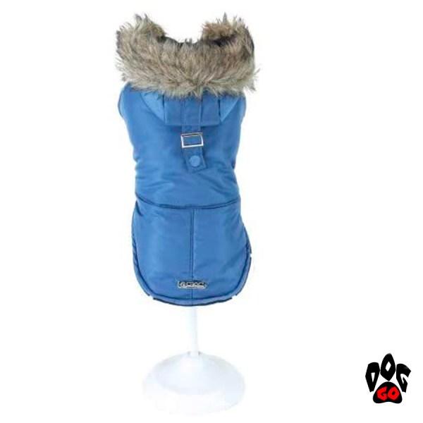 Зимняя куртка для собаки CROCI BLUE PARKA-1