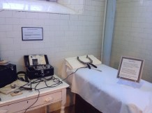 Shock therapy room