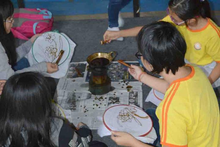 Learning Batik
