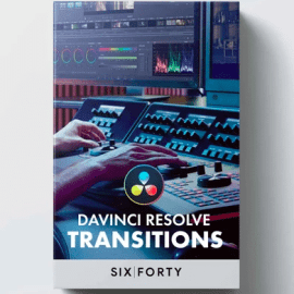 640studio 40+ Transitions Pack for DaVinci Resolve Free Download