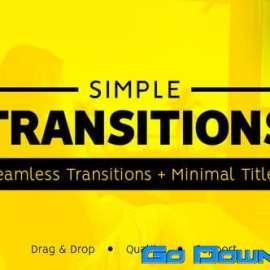 Videohive Simple Transitions V3.0 23015252