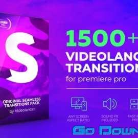Videolancer Transitions For Premiere Pro v3 Original Seamless Transitions Download