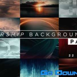 Videohive Worship Backgrounds Pack Free Download