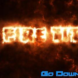Videohive 10 Fire Titles Free Download