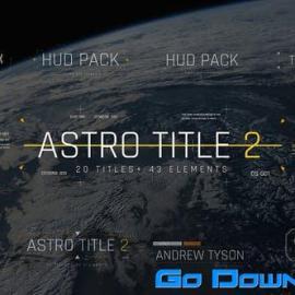 Videohive Astro Title 2 Free Download