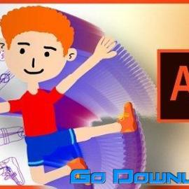 Cartoon Character Rigging and Animation in Adobe Animate CC Free Download