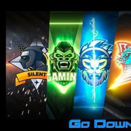 Videohive 5 Gamers Stream Logos Free Download