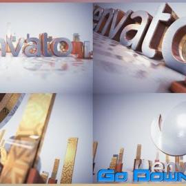 Videohive Golden Glass Intro 21916054 Free Download