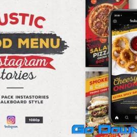 Videohive Rustic Food Menu Instagram Stories Free Download