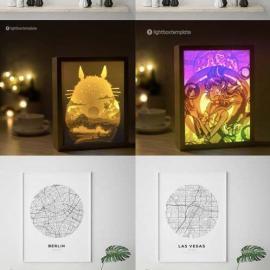 Laser Cut & Print Design Elements Bundle ETSY Download