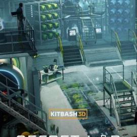 Kitbash3D Props Secret Labs Free Download