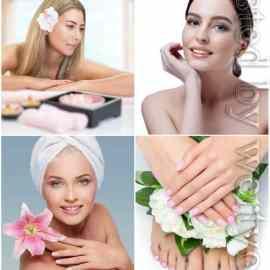 Girls in spa salon stock photo Free Download