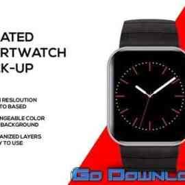 Smartwatch mockup Free Download