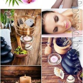 Spa concept girl in spa salon stock photo Free Download