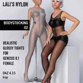 Lali's Bodystocking 02 for Genesis 8.1 Females FreeDownload