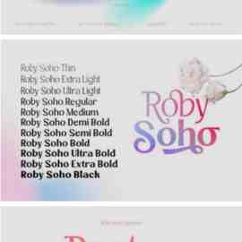 Roby Soho Font Free Download