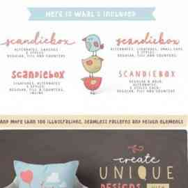 Scandiebox Handlettering Collection 1638278 Free Download
