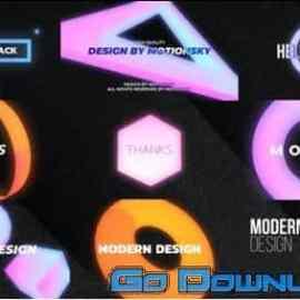 Videohive Unique Colourful Titles Davinci Resolve 32762601 Free Download