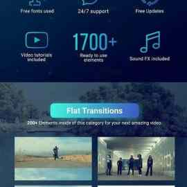 Videohive Youtube Pack Transitions V21 27009072 Free Download