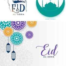 Eid al adha islamic festival banner design Free Download