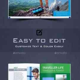 GraphicRiver Travel Magazine 23794961 Free Download