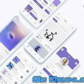 NFT Auction App UI Kit Free Download