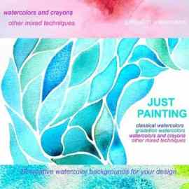 20 Abstract Watercolor Backgrounds Free Download