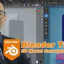 Blender Tutorial : 3D Model Smartphone Mockup