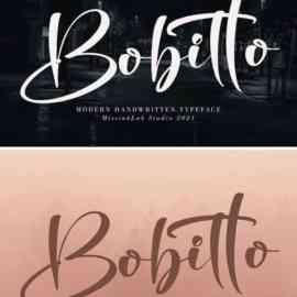 Bobitto Font Free Download