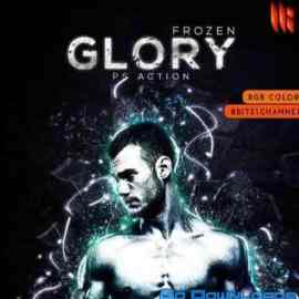 GraphicRiver Frozen Glory Photoshop Action 211451 Free Download