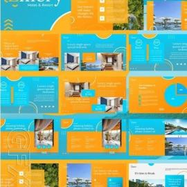Hotel Resort Powerpoint Keynote And Google Slides Template Free Download