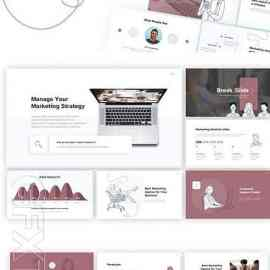 Marketic Marketing Powerpoint Template T4kxz8b Free Download