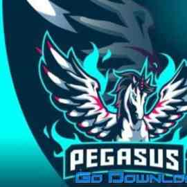 Pegasus Mascot Logo Free Download