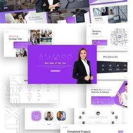 Salesary Marketing Powerpoint Template Lg2s49a Free Download