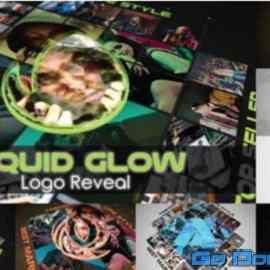 Videohive Liquid Glow Logo Reveal 28283675 Free Download