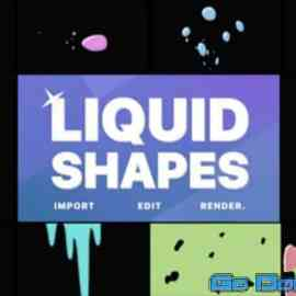 Videohive Liquid Shapes After Effects 33758184 Free Download