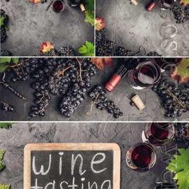 Wines set stock 210 photo Free Download