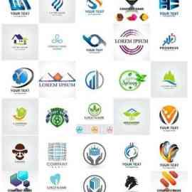 100 Bundle logo vector design vol 1 Free Download