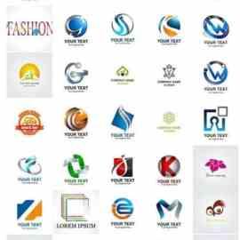 100 Bundle logo vector design vol 2 Free Download