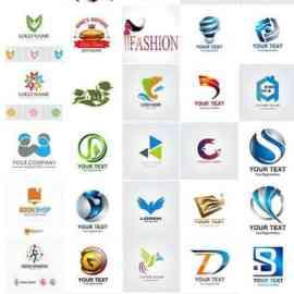 100 Bundle logo vector design vol 4 Free Download