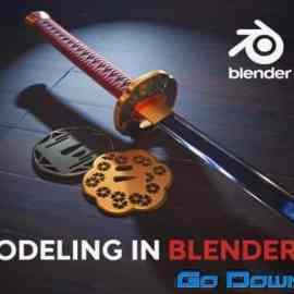 Artstation – Modeling in Blender Free Download
