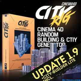 Cinema 4D CITY RIG 1.9 Plugin Free Download
